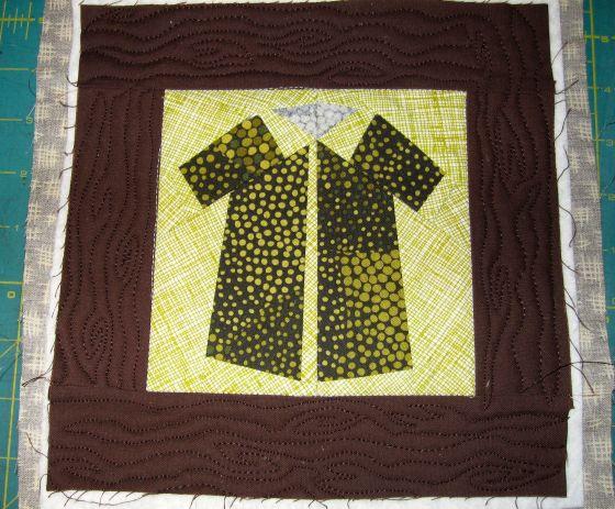Shirts woodgrain block sample
